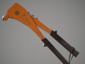 铆钉枪 工具钳 工具枪 施工枪 扳手3d模型