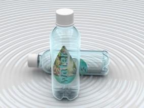 水瓶 矿泉水 塑料瓶 透明水瓶 饮料瓶 纯净水 饮用水 矿泉水瓶3d模型