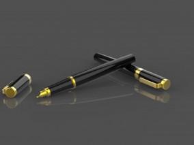 特写 精细 钢笔 现代钢笔模型 文具 派克钢笔