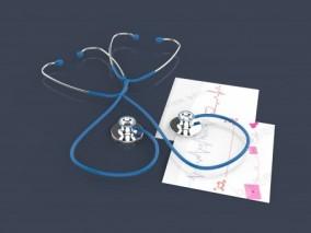 医疗听诊器 医疗器械 现代医疗常用设备 听诊器 医用器材_医院工具_医生工具