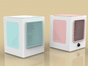 空调扇 空调 制冷机 制冷器 加湿空调扇 无叶空调扇 风扇 排风扇3d模型