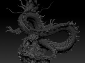 青龙 3d模型
