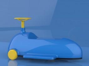 玩具自行车 三轮儿童学习车儿童玩具车 平衡车 脚踏车 3d模型