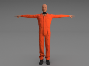 假人   碰撞测试假人   人偶    3d模型