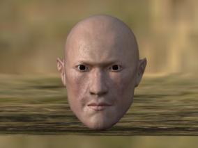 男性 人头 3d模型