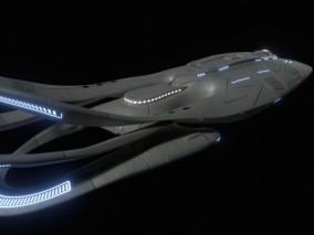 星际迷航飞船   科幻飞船   奥维尔号航空母舰