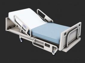 PBR-老旧的医院病床 3d模型