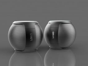 音响 蓝牙音箱 小型 迷你音响 车载音响 小音箱 低音炮 个性音响 无线音响 3d模型