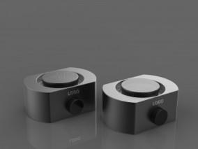 音响 蓝牙音箱 小型 迷你音响 车载音响 低音炮 无线音响3d模型