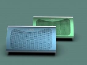 三菱音响 三角音箱 音响 蓝牙音箱 迷你音响 车载音响 低音炮 个性音响 无线音响3d模型
