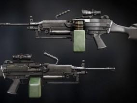 M249 机枪 轻机枪