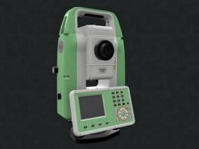 全站仪 经纬仪 仪器 3d模型