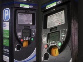 停车售票机 停车收费机 3d模型