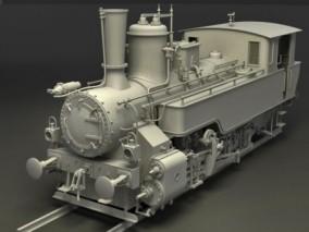 蒸汽机车 蒸汽火车 老式火车