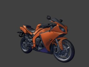 交通工具 车 机车 时尚概念摩托车 3d模型