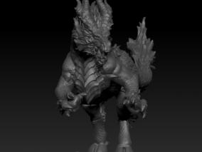 神话传说 3d模型