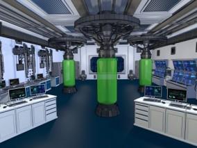 动画游戏漫画场景 建筑内景 生化武器 未来实验室 科学仪器 医疗器械 3d模型