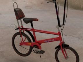 交通工具 运动山地车 越野自行车 儿童单车 脚踏车 极限自行 3d模型