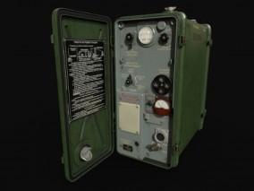 高频收发机 军用战术无线电设备 电台 战场通信 高频 收音机 3d模型