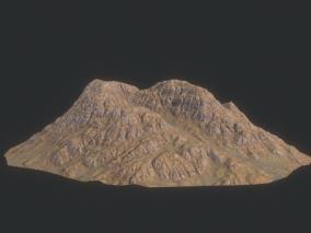 山体 岩石 山峰 沟壑 高山 丘陵 高原 平原  3d模型