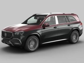 2021款  梅赛德斯奔驰  GLS 600  迈巴赫 3d模型
