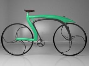 超酷概念 科幻共享单车 脚踏车 赛车 极限竞速运动自行车  3d模型