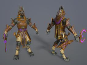 Anubis 亡灵之神 狗头人身神 阿努比斯 守墓神 胡狼神 埃及神话 埃及法老