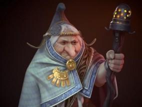 矮人医师   巫师   巫婆  老太太