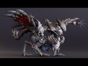 次时代女妖 人面怪物 恶魔 3d模型