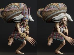 萨满法师 巫师 土著 酋长