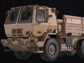 军用卡车 M1083 3d模型