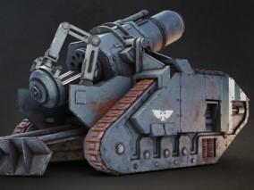 PBR-科幻 装甲车 坦克 轰炸机 炮弹  大炮