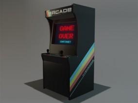 街机 游戏机 3D模型