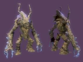 树妖 树怪 植物怪物 树木怪物 树怪物 树精 植物精 次世代 怪物  3D模型
