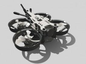 民用无人机 小型无人机 森林防火无人机 VR无人机 小精灵无人机  3D模型