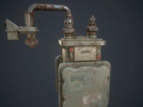 燃气表 天然气仪表 3D模型