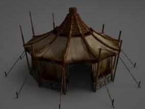 游牧民族的帐篷 蒙古包 3D模型