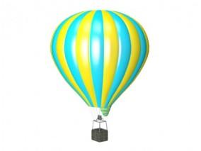 热气球3D模型