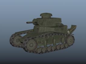二战坦克 德式坦克 苏式坦克 美式坦克 中型坦克 坦克 坦克战车 小坦克 老式坦克 3D模型