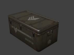 工具箱 装备箱 武器箱 弹药箱 储物箱 军用 3D模型