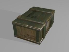 箱子 工具箱 盒子 木盒子 弹药箱 3D模型