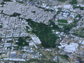 包头城市3d模型 包头数字城市模型 包头建筑规划 效果图鸟瞰 包头市3d白模简模 包头全景鸟瞰