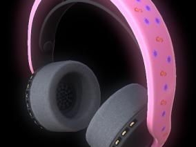 无线耳机 3D模型