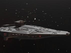 宇宙飞船 太空飞船 星际战舰 3D模型