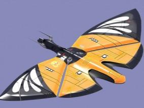 机械蝴蝶 机器蝴蝶 机器昆虫 科幻飞行器