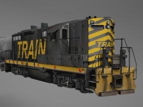 大型运输老式火车