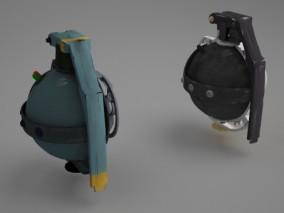 未来科幻武器 手雷