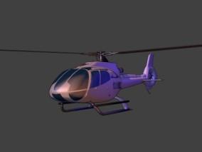 漫画场景 卡通场景 交通工具 飞机 直升飞机 螺旋桨飞机 警用直升机 采访直升机 民用直升机