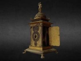 古董钟表 时钟 3d模型