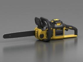 电锯 锯子 油锯 链锯 工具 锯木头 砍树 伐木 农业设备 机械